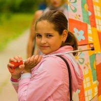 Ребенок с зонтиком :: Мария Кальченко-Буланова