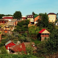 Поселок :: Анастасия Болюбаш