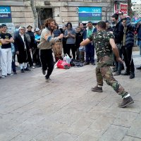 Уличные танцы.Иерусалим. :: Алла Шапошникова
