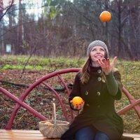 Летающий апельсин) :: Ксения Базарова