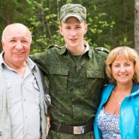 у солдата в гостях :: Александр Ролич