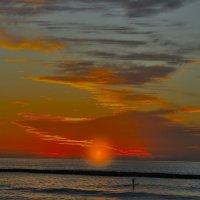 закат на Средиземном море :: Shmual Hava Retro