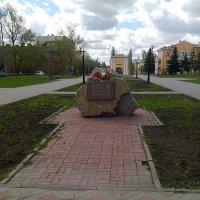 Памятный камень-  жертвам сталинских  репрессий :: раиса Орловская
