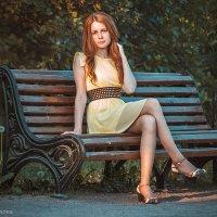 На скамейке :: Алена Шпинатова