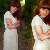 лесная нимфа (до и после) :: Veronika G