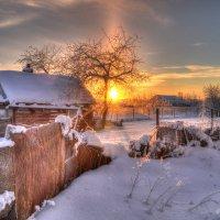 Наслаждаться рассветом, всем сердцем впитать это чудо... :: Александр Тарасенков