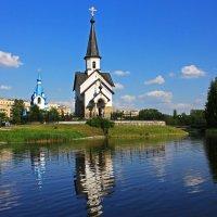 Церкви Рождества Христова(на заднем плане) и Георгия Победоносца. :: Александр Лейкум