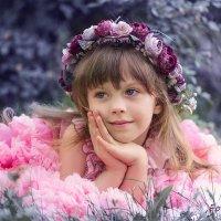 Моя цветочная фея :: Наталья Кирсанова