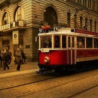 Трамвайчик в Праге :: Юлия Хазова