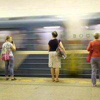 Голубой вагон :: Aнна Зарубина