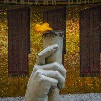 Вечный огонь в Зале Воинской славы на Мамаевом кургане :: Артем Рыженко