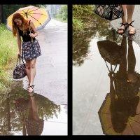 Прогулка под дождем :: Мария Черенова