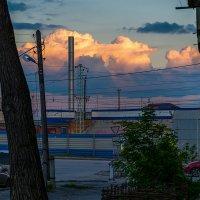 Облако. Закат. Промышленная зона. :: Sergey Kuznetcov