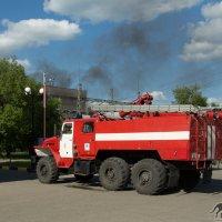 Пожар на Согринской ТЭЦ :: Андрей Плетнев