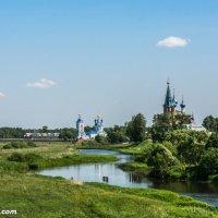 Храмы в селе Дунилово Шуйского района :: Валерий Смирнов