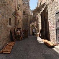 Старые улочки Иерусалима :: oxana kritskaya