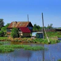 Дом у пруда :: Алексей Golovchenko