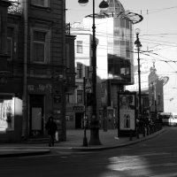 ,,С четырех часов Невский проспект пуст, и вряд ли вы встретите на нем хотя одного...,, :: sv.kaschuk