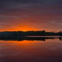 закат над озером :: Ирэна Мазакина