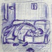 Светлана Романовна спит днём. :: Роман Деркаченко