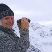 А вот и я на этой высоте 3500. Солнце! :: Сергей Кириллович Виноградов