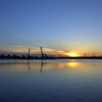 закат... :: Евгения Гущина
