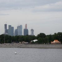 Москва сити :: Кирилл Николенко
