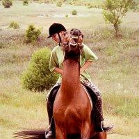 люди...кони.. :: Марина Брюховецкая