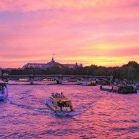 Закат над Парижем :: Николай Фарионов