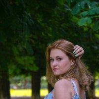 девушка :: Катерина Забанова