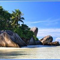 Тропический остров Ла Диг :: Евгений Печенин