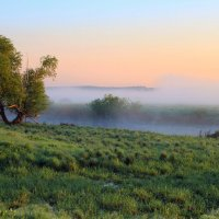 Туман над рекой :: Сергей Михайлович