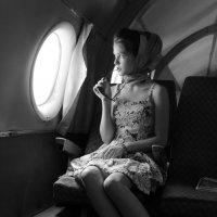 В самолете :: Анжелика Крайнова