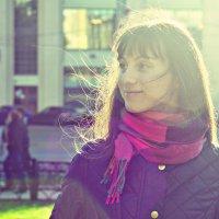 Портрет в лучах солнца :: Яна Радаева