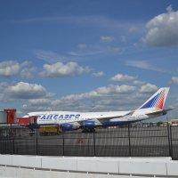 Боинг 747-400 Трансаэро :: Евгений Пикаревский