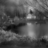 Фирсановка, старый пруд :: Константин Беляев