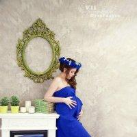 Прексрасная будущая мамочка Елена! :: ангелина семёнова