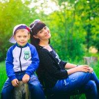 Мама и сынок :: Сергей Бутусов