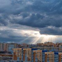 Вид из окна , после дождя . :: Светлана Гаевская
