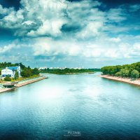Любимый Гомель и река Сож :: Сергей Пилтник
