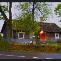 Дом у дороги.... :: Елена Kазак