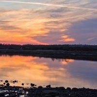 Краски весеннего заката. :: Виктор Евстратов