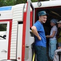 В пожарной машине :: Ольга Крулик