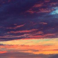закат над озером :: li mengeden