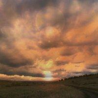 деревенский закат :: Alex Kokorev