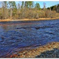 Бысторе течение синей реки. :: Vadim WadimS67