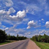 Дорога с облаками. :: Yuriy V