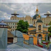 И опять вид с крыши....Центр :: Viacheslav Birukov