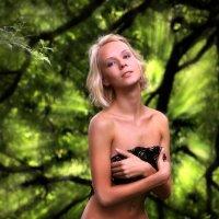 Лесная девушка...5 :: Андрей Войцехов