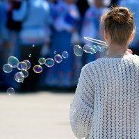 мыльные пузыри :: Евгений Фролов